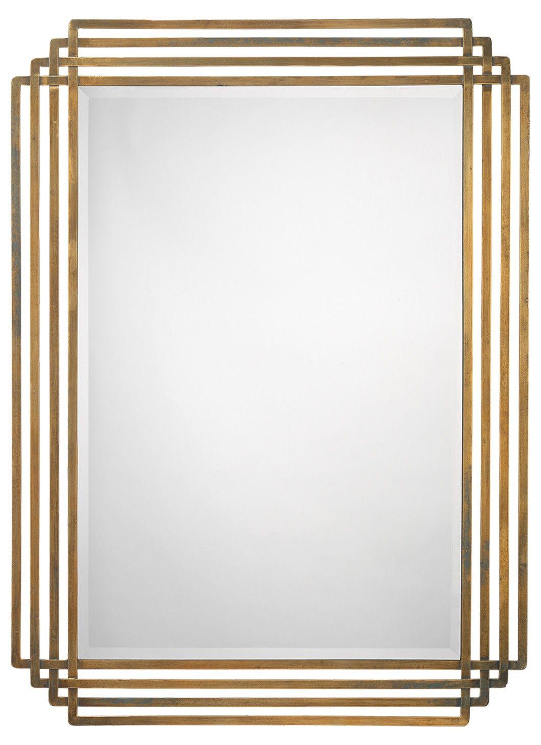 Mirrors Art Deco Mirror Living Room Decor Modern Accent Mirrors [ 1460 x 1060 Pixel ]