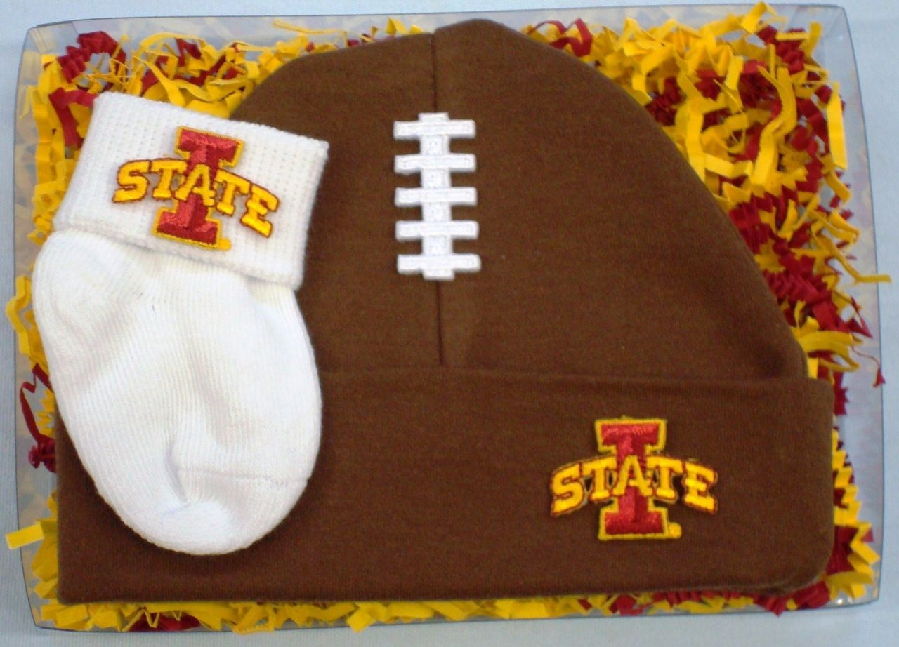 Future Tailgater Iowa State Cyclones Baby Receiving Blanket