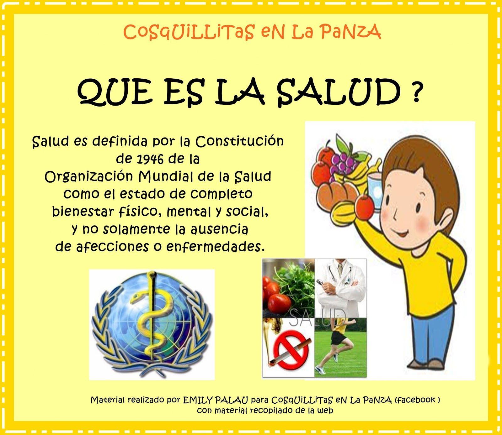 Dia Mundial De La Salud Para Niños De Primaria Buscar Con Google Comics