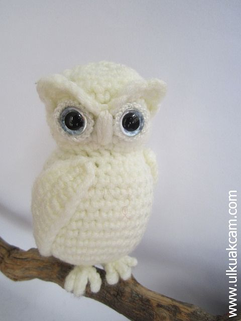Free crochet pattern: Small amigurumi owls | 640x480