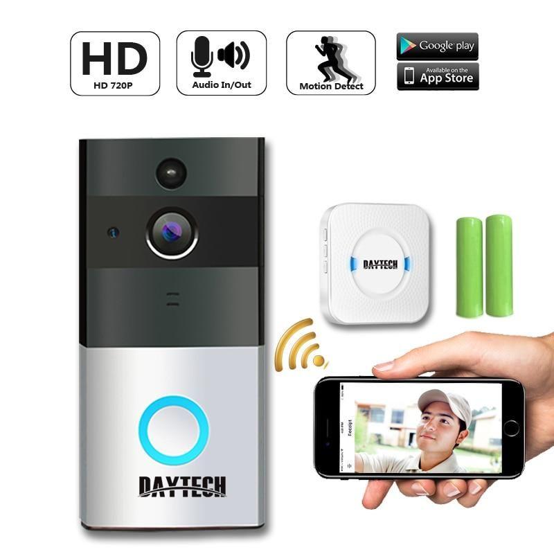 Wireless Doorbell Ring Chime Door Bell Video Camera WiFi