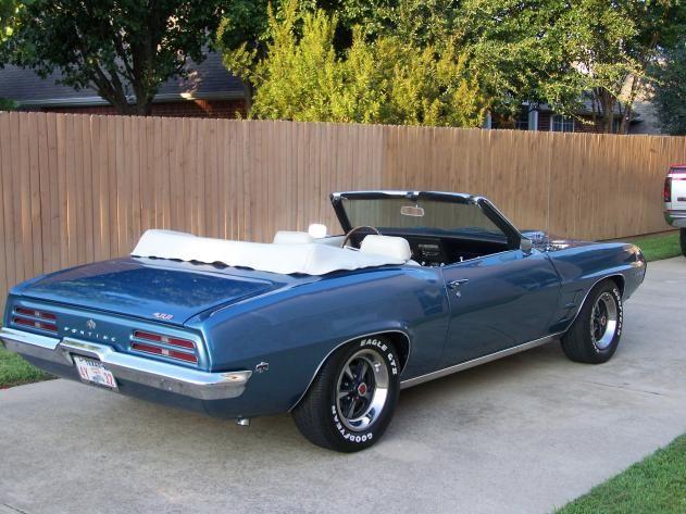 AutoTrader Classics - 1969 Pontiac Firebird Convertible Blue