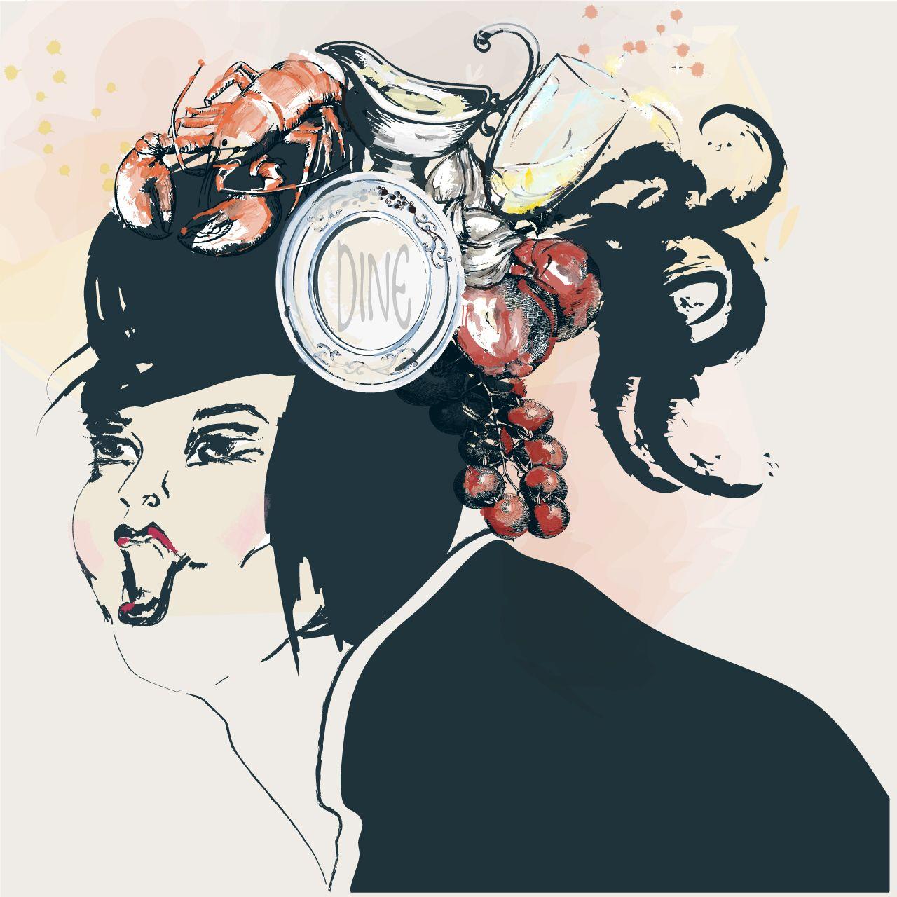 Illustration digital vector illustration art