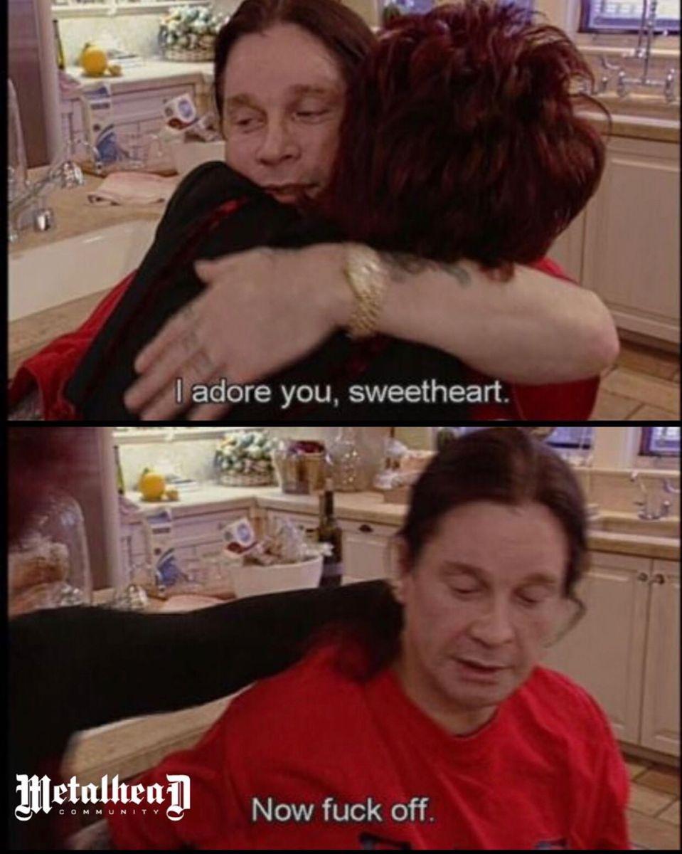 Ozzy Osbourne Meme Sharon