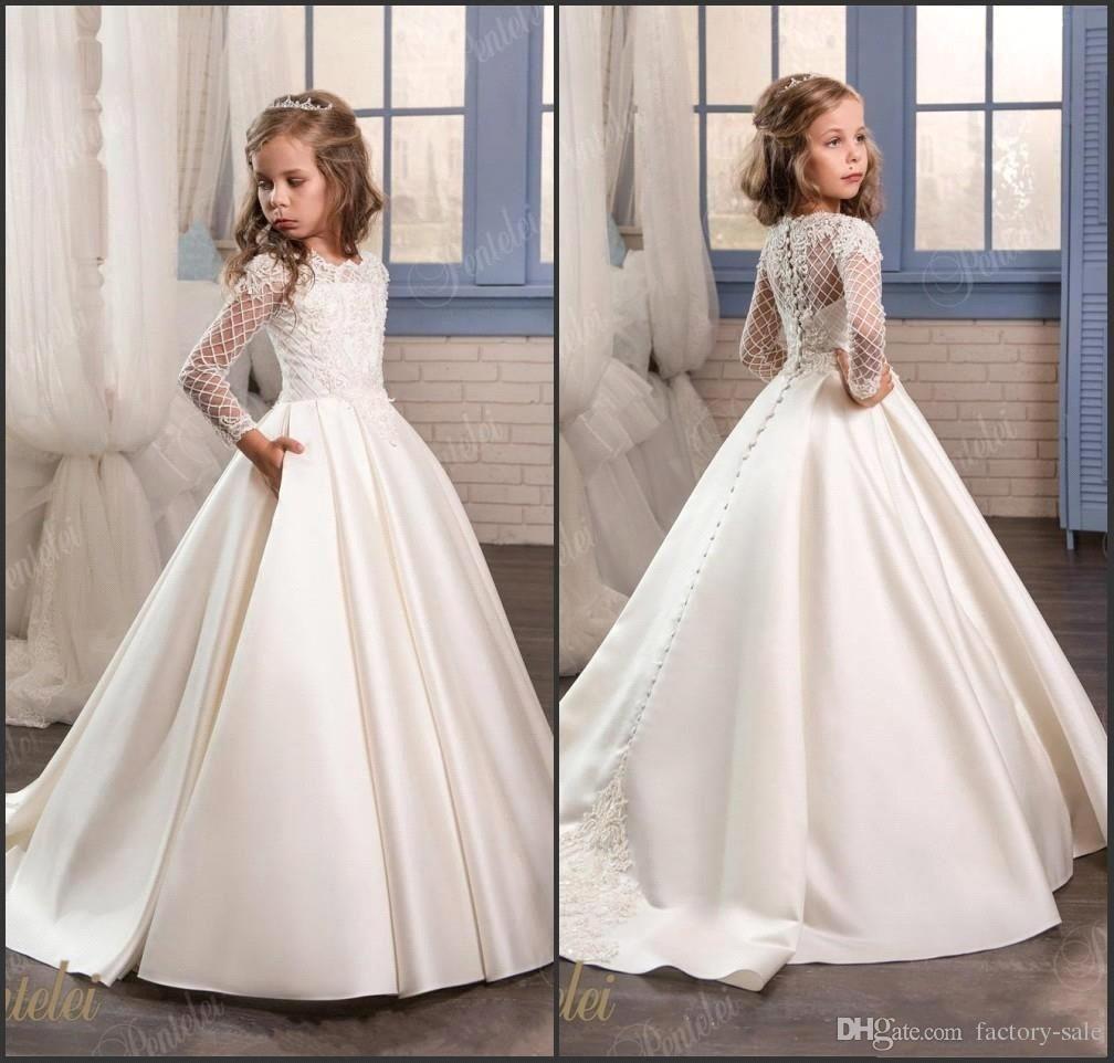 de3734d3c 11 Adorable Flower Girl Dresses | Real Simple
