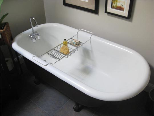 How To Clean An Old Porcelain Enamel Bathtub Or Sink Clean