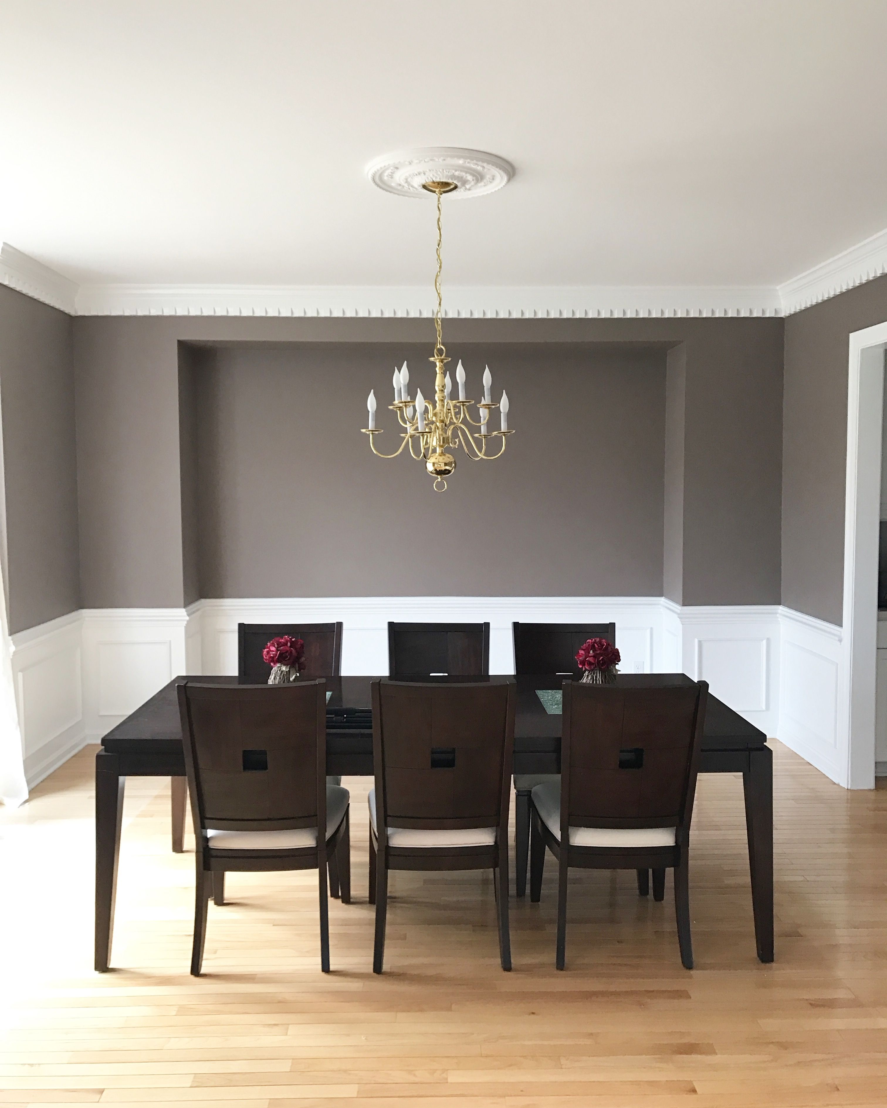 Dining Room Poised Taupe