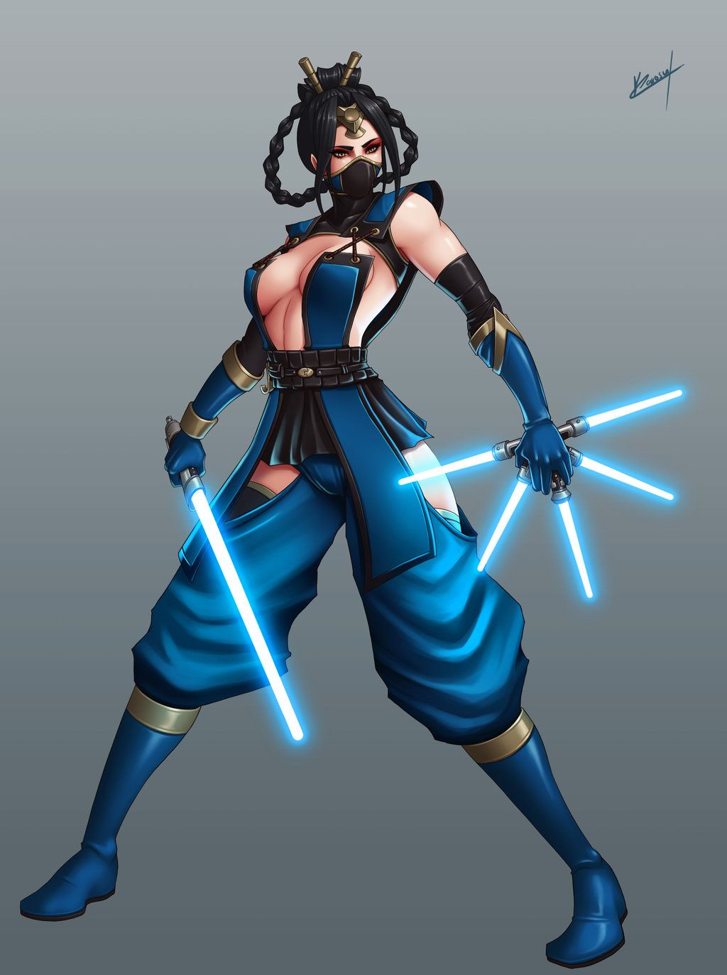 Kitana-MKX on SubZero-and-Kitana - DeviantArt | design board