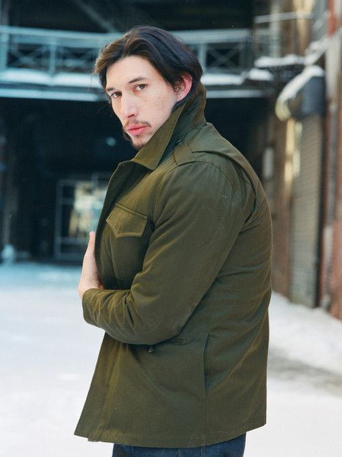 Something about Adam Driver...