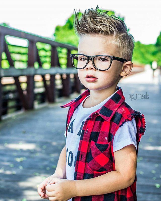 Throb Toddler Boy Fashion Style Haircut Hairstyle Hair