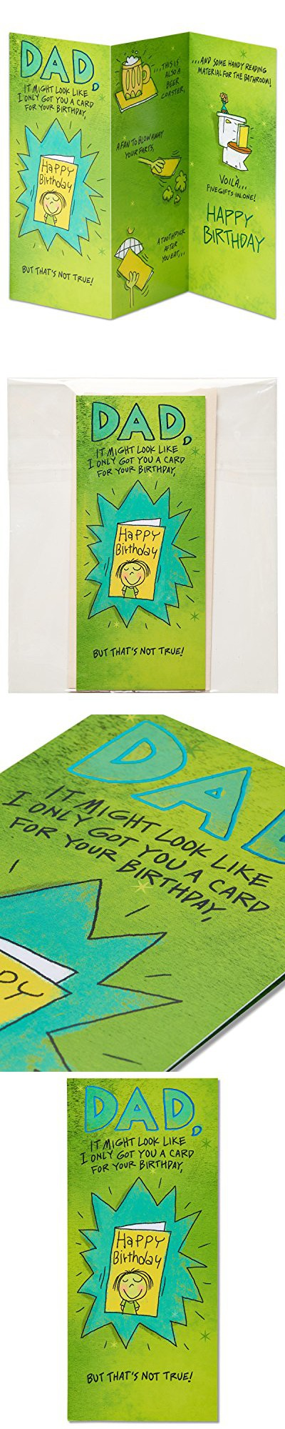 American Greetings Funny Birthday Card For Dad With Foil American