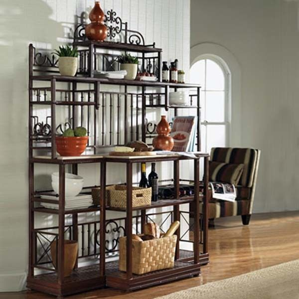 Awesome Traditional Bakers Racks