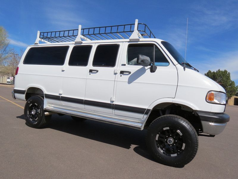 1997 Dodge Ram Van 3500 4x4 Custom 12144 Denverfleet Dodge Ram Van Dodge Ram Ram Van