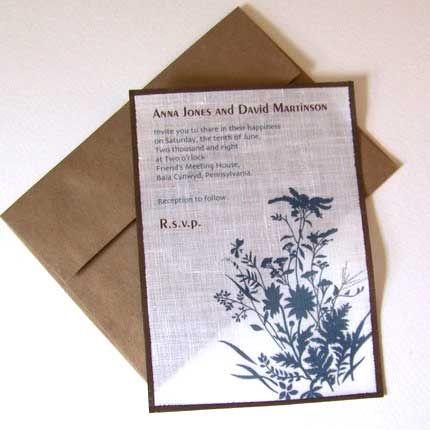 Fabric Wedding Invitations Alternative Wedding Invitations Inexpensive Wedding Invitations Wedding Invitations