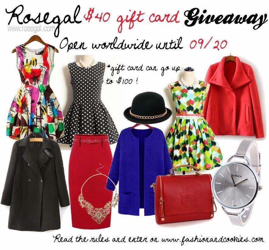 Fashion blog giveaways international