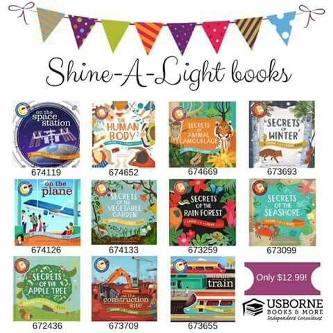Usborne Shine A Light Books Fascinating Usborne Shinealight Books  Usborne Books  Pinterest 2018