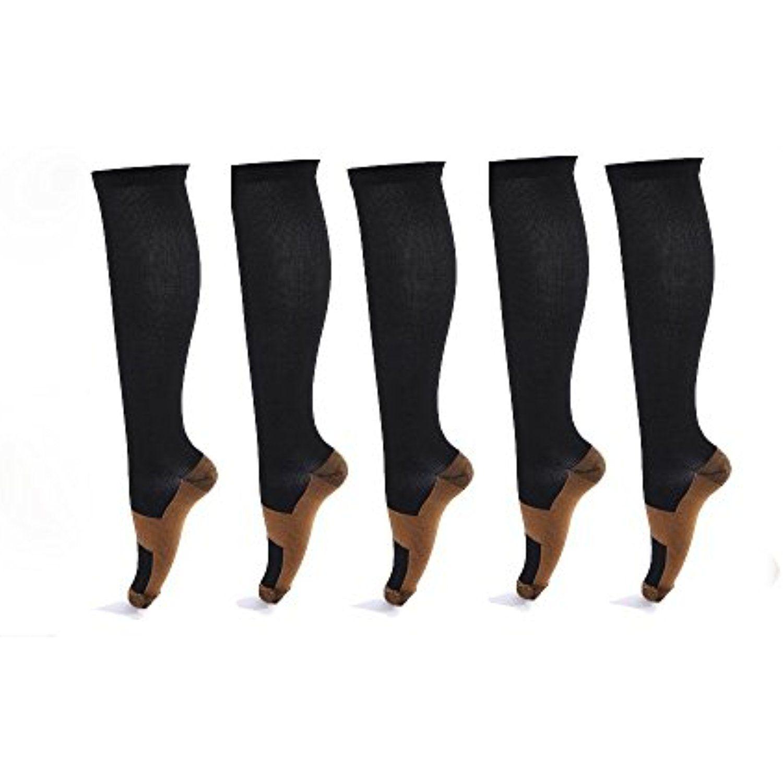 copper fit energy socks easy on easy off