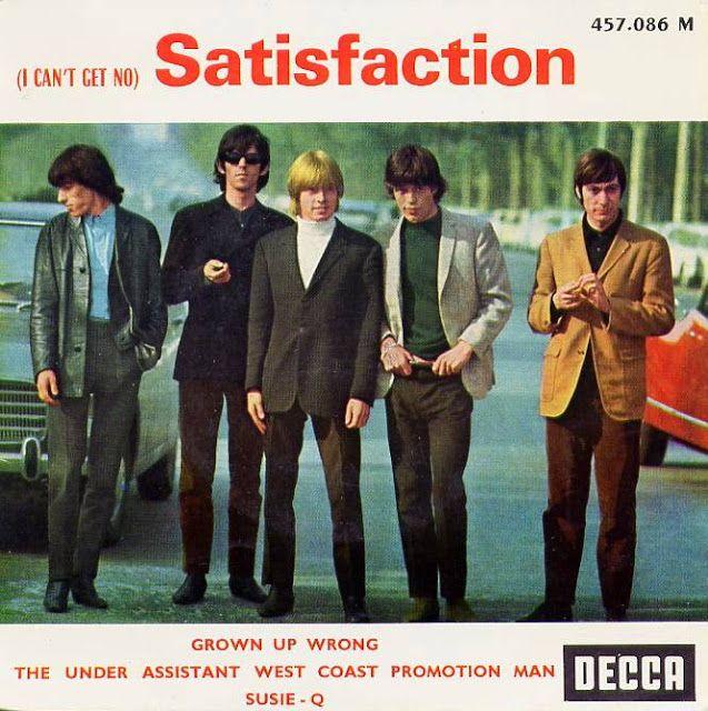 """El Blog de Marcelo: """"Satisfaction"""" de los Rolling: Después de 50 años,..."""