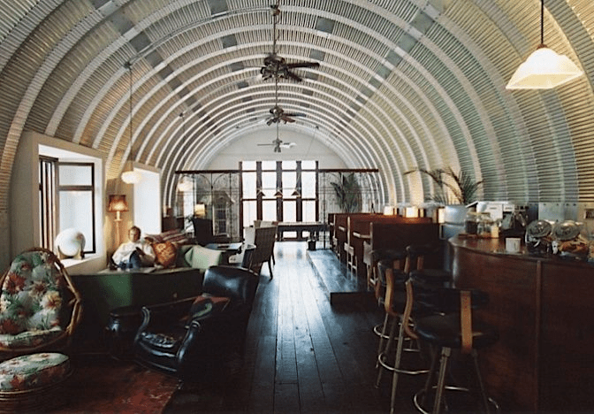 17 best quonset hut home ideas choose your favorite for Metal homes interior