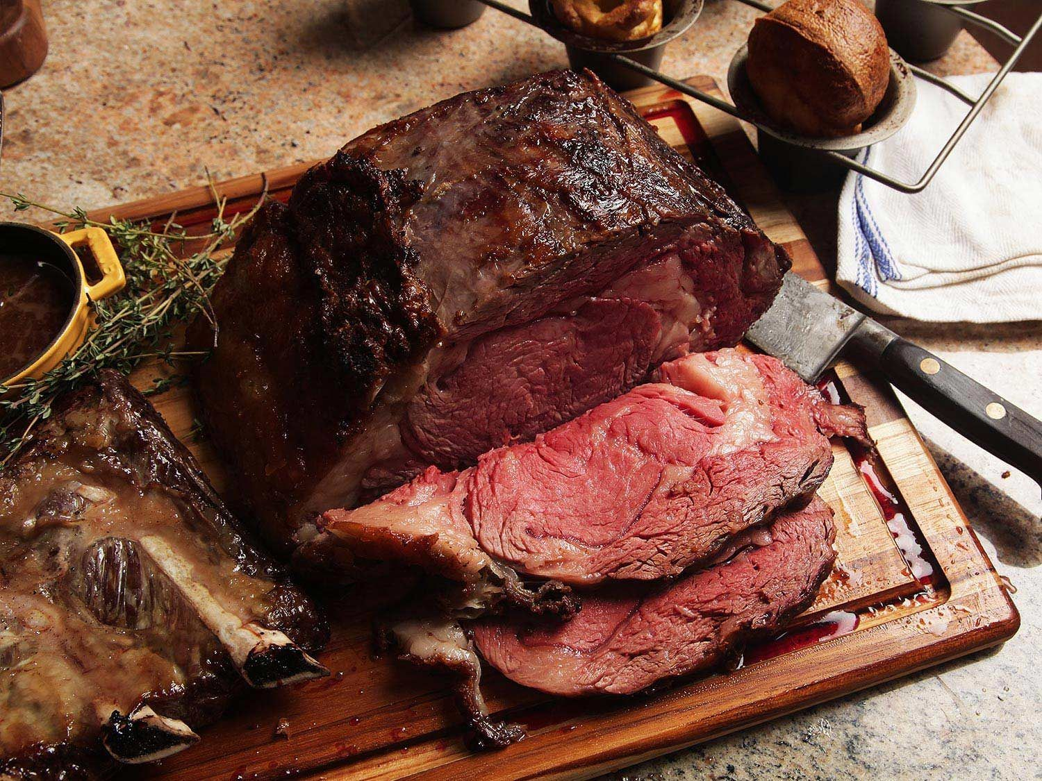 Perfect Prime Rib With Red Wine Jus Recipe Recipe Cooking Prime Rib Rib Roast Recipe Prime Rib Roast