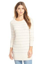 Caslon® Rib Knit Tunic Sweater (Regular & Petite) | Clothes Style ...