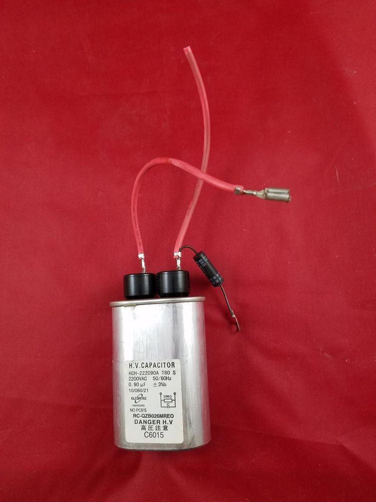 Frigidaire Electrolux Kenmore Microwave High Voltage Capacitor 5304455389 Frigidaire Capacitors Frigidaire Ebay