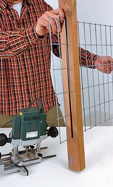 rosenbogen bauen schritt 10 von 23 rund um den garten. Black Bedroom Furniture Sets. Home Design Ideas
