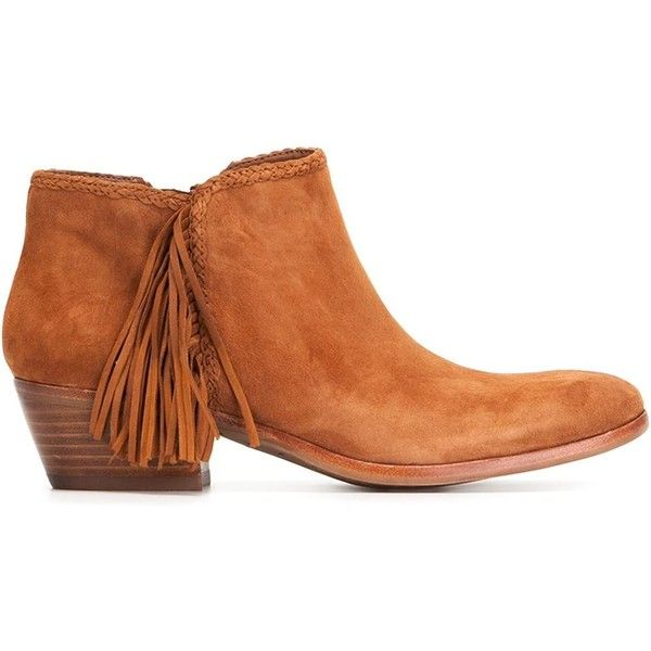 Sam Edelman Paige Boots (1.840 ARS) ❤ liked on Polyvore featuring shoes, boots, nude shoes, suede shoes, sam edelman, suede leather boots and sam edelman shoes