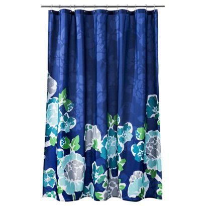 Room Essentials Shower Curtain Blue Curtains Room Essentials