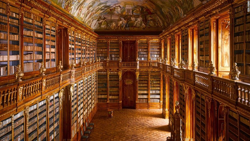 Beautiful Libraries Drenched In History