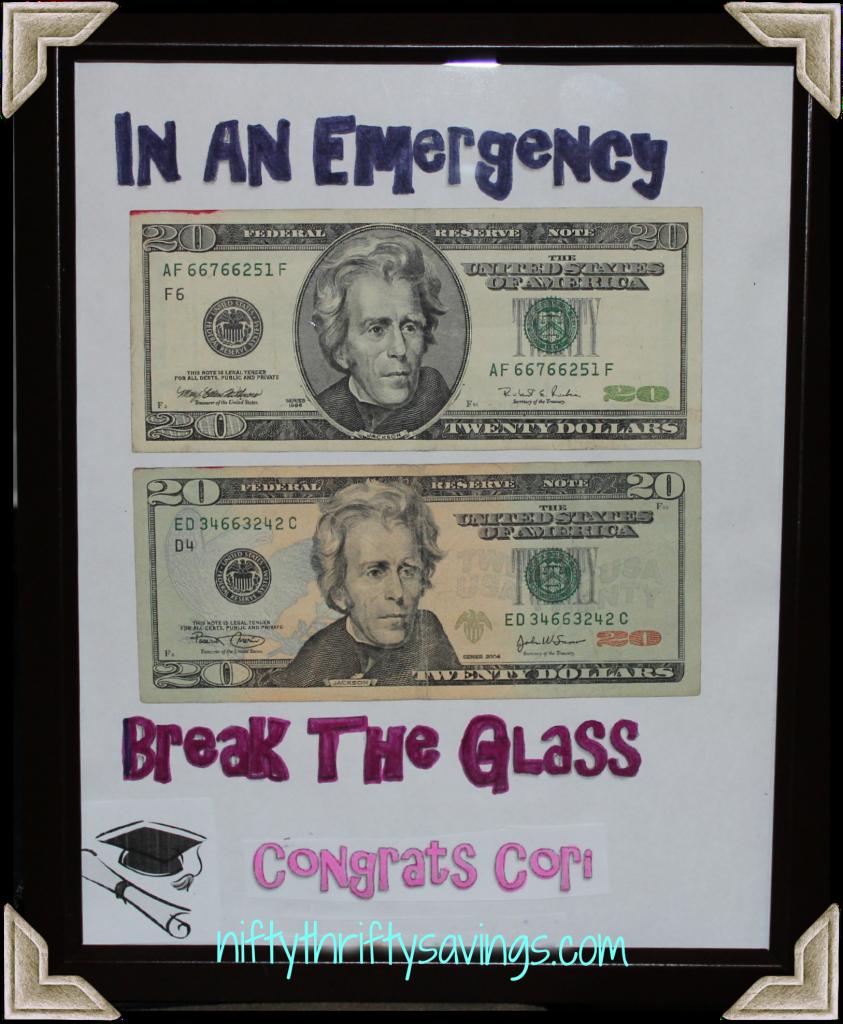 Graduationbirthdayweddingholiday gift idea coin in the bank