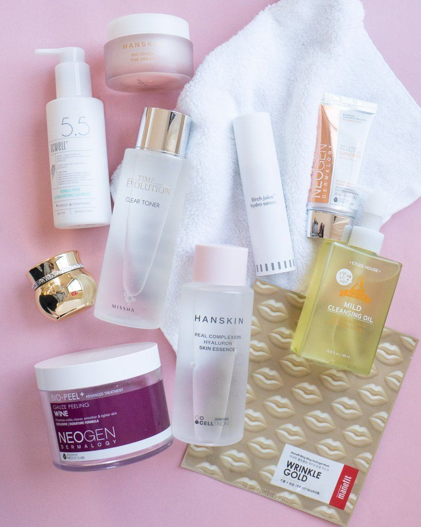10 Step Korean Skin Care Routine Set Dry Skin Type Skincare Skin Care Routine Korean Skincare Routine Dry Skin Types