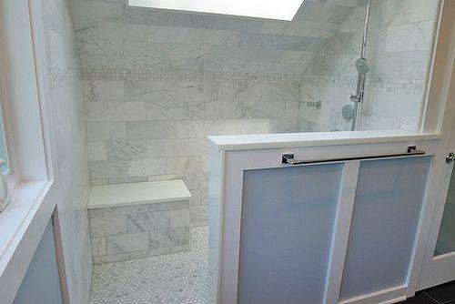 Carrara Venato 6x12 White Marble Highly Por