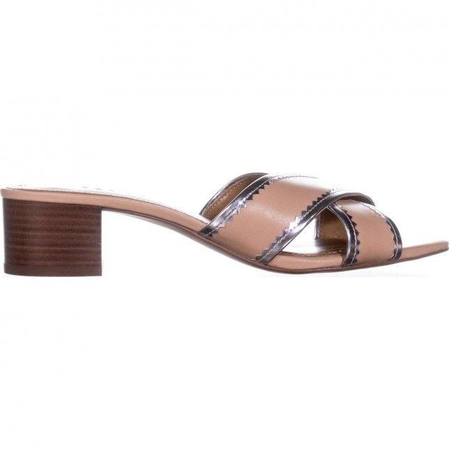 ec7f375ee82e Coach Murielle Cross Strap Sandals