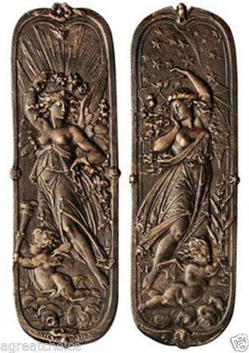 reproduction antique door locks. 1 Pair Victorian Antique Replica Cast Iron Woman Cherub Door Plaque Push Plates | EBay Reproduction Locks S