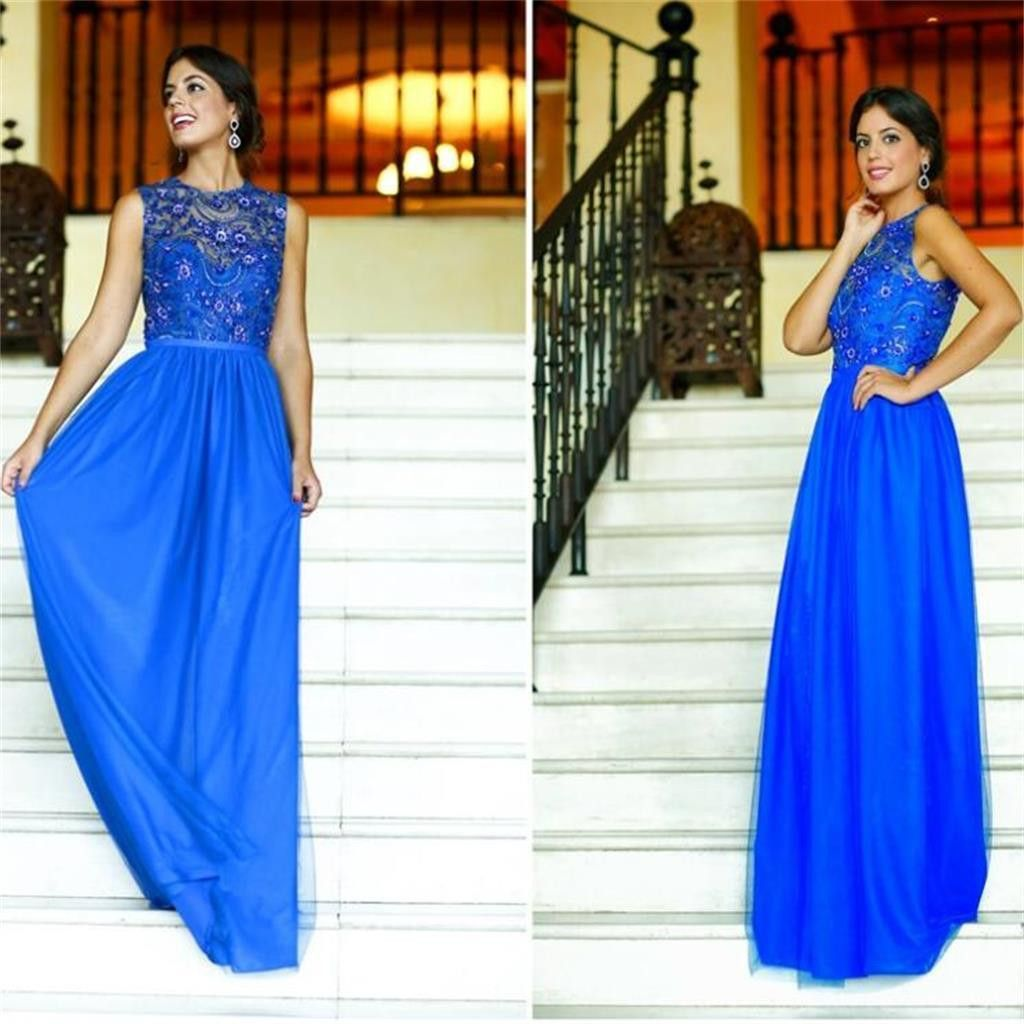 Royal Blue Long Prom Dresses, Affordable Charming Prom Dresses ...