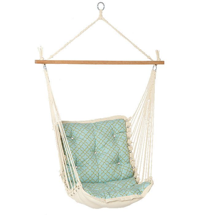 Captivating Tufted Single Person Swinging Hammock Chair   I Love These Chairs.itu0027s Just  To Bad My Backyard Deck Runs Amuck With Mosquitos!