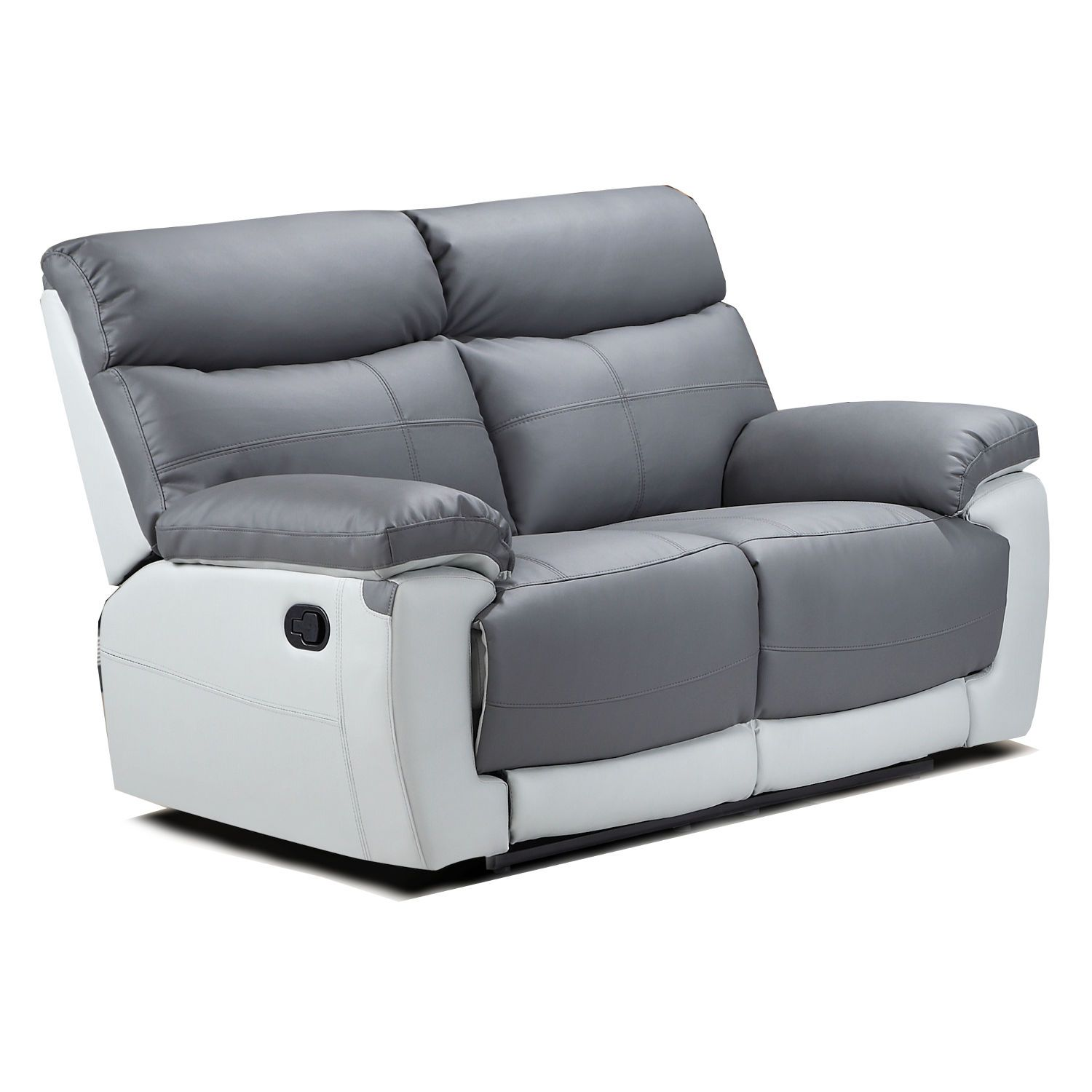 Duo Lexi 2 Seater Leather Recliner Sofa