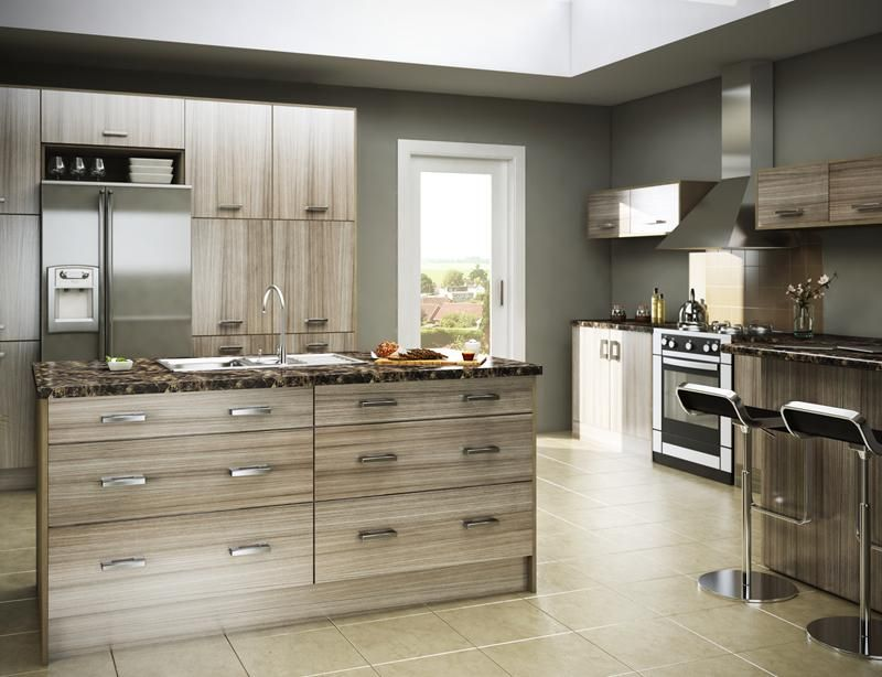 Driftwood Kitchen Cabinets | Kitchens - Arley Cabinets - Wigan ...