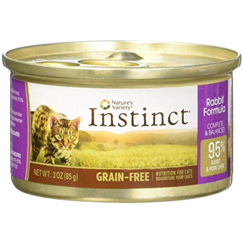 Instinct Rabbit Canned Cat Food Size 3 oz., case of 24