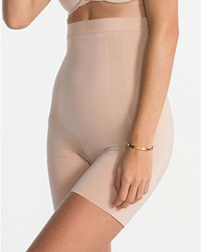 d7e7c8e65c SPANX Oncore High-Waisted Mid-Thigh Shorts   READ REVIEW   http