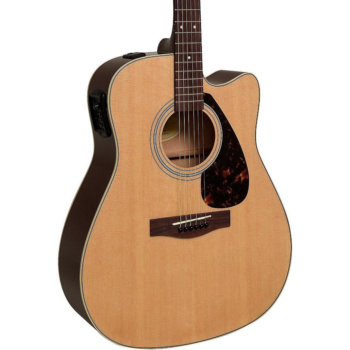 Yamaha Fx335c Dreadnought Acoustic Electric Guitar In 2020 Acoustic Electric Guitar Guitar Tuners Semi Acoustic Guitar
