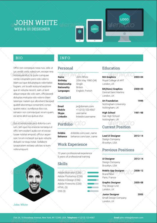 curriculum creativo - Buscar con Google | curriculum | Pinterest ...