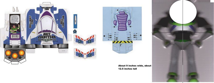 Buzz lightyear Box WIP by AndrewStrappers.deviantart.com on @deviantART