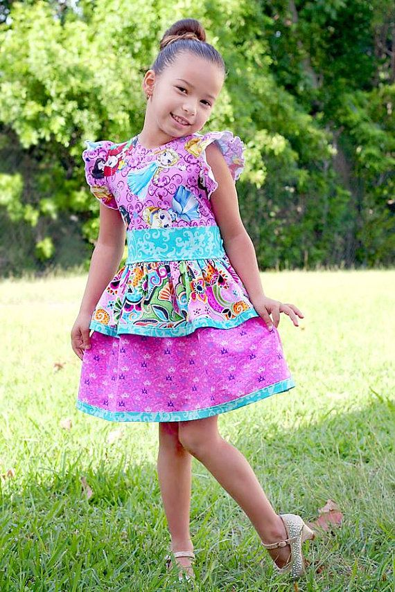 Girls Quinn Dress PDF Sewing Pattern Sizes 3 by Little4Awhile ...