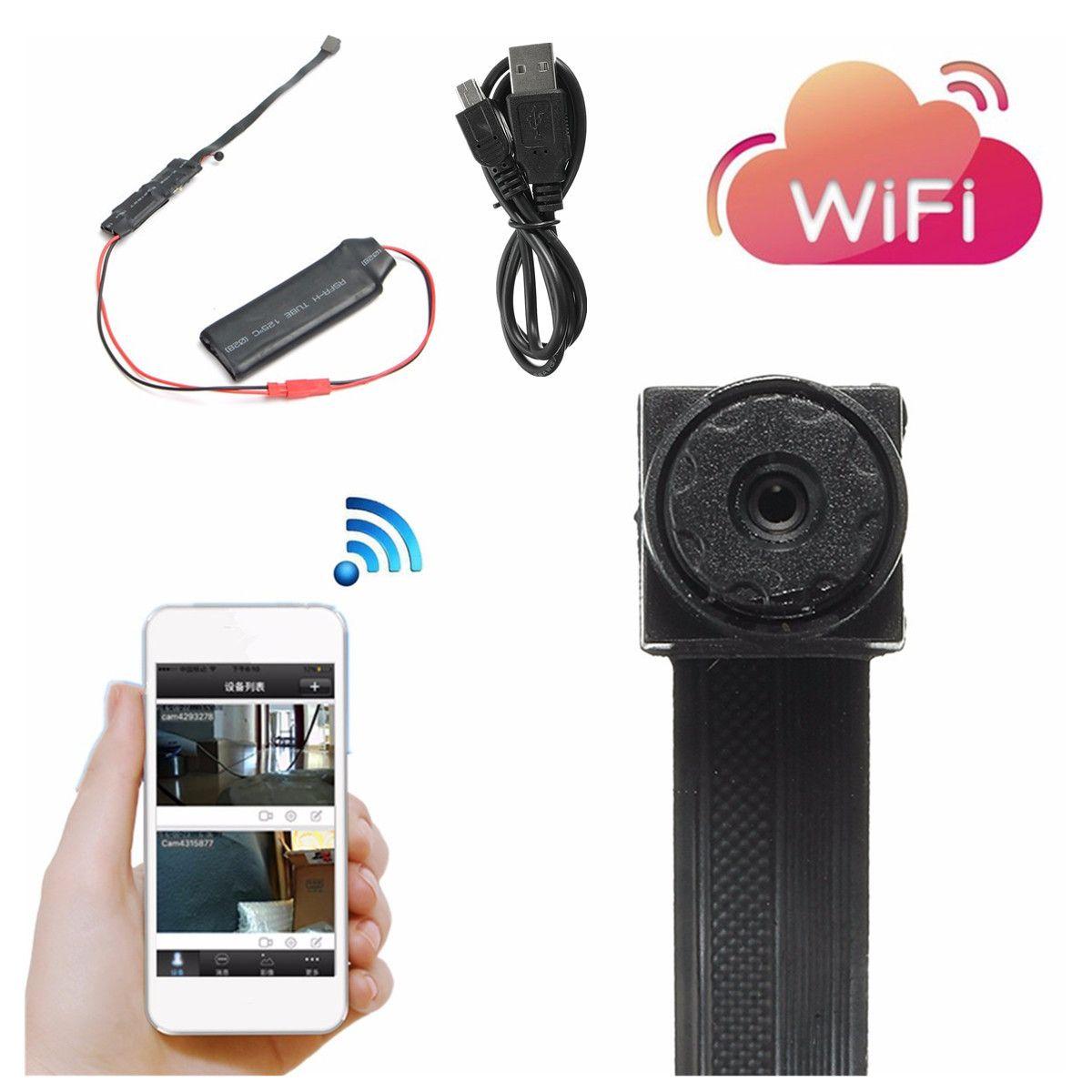 Mini Wifi Module Camera CCTV IP Wireless Surveillance