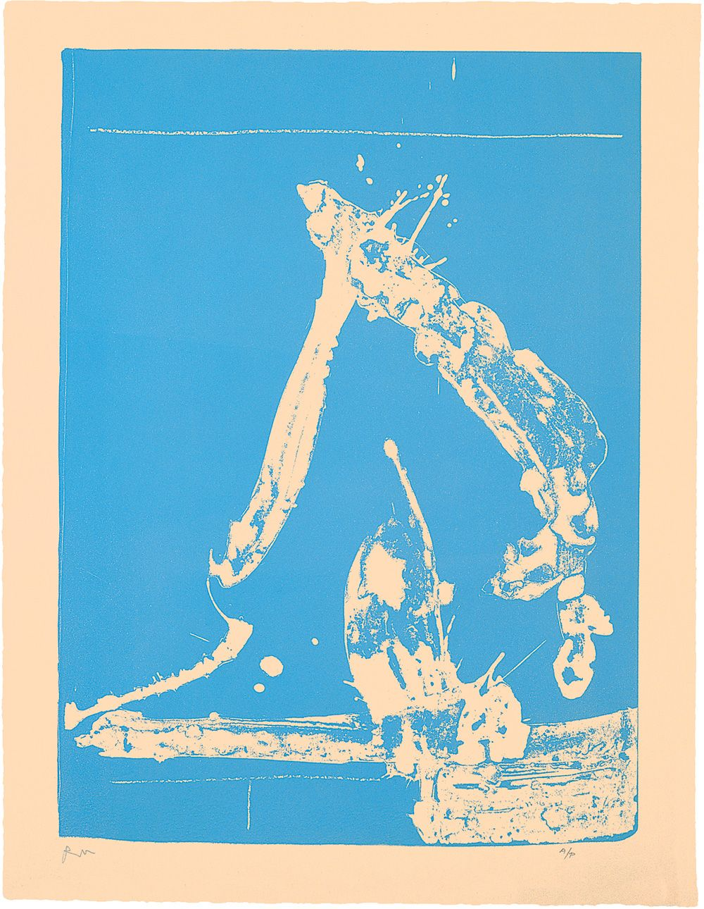 Robert Motherwell-By the Sea-1981 Poster