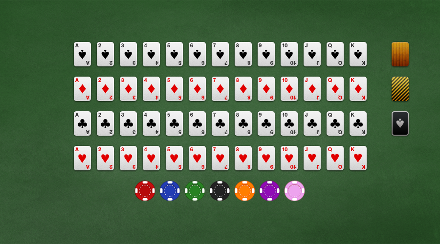 Dribbble playing cards all.png by Michael Shanks Video