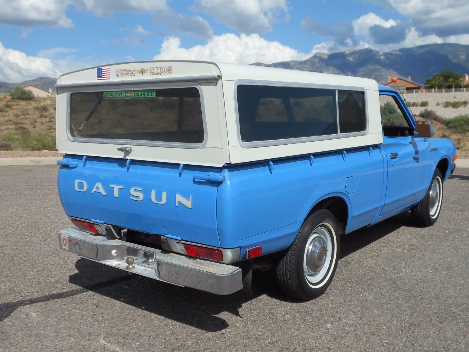 barn finds 1974 datsun 620 pickup 2 dad had a white