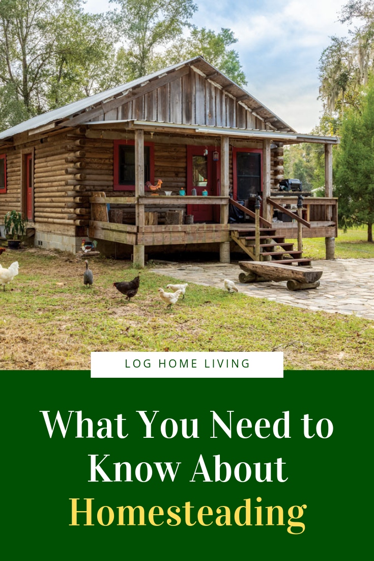 What You Need To Know About Homesteading Log Home Living Log Homes What Is Homestead